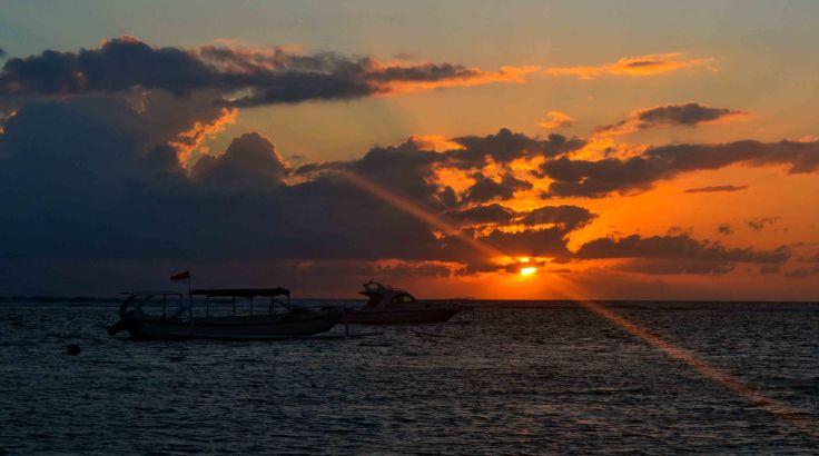 Sunrise in Sanur Beach Bali