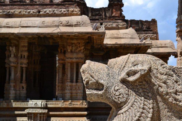 Inside Vittala Temple Hampi