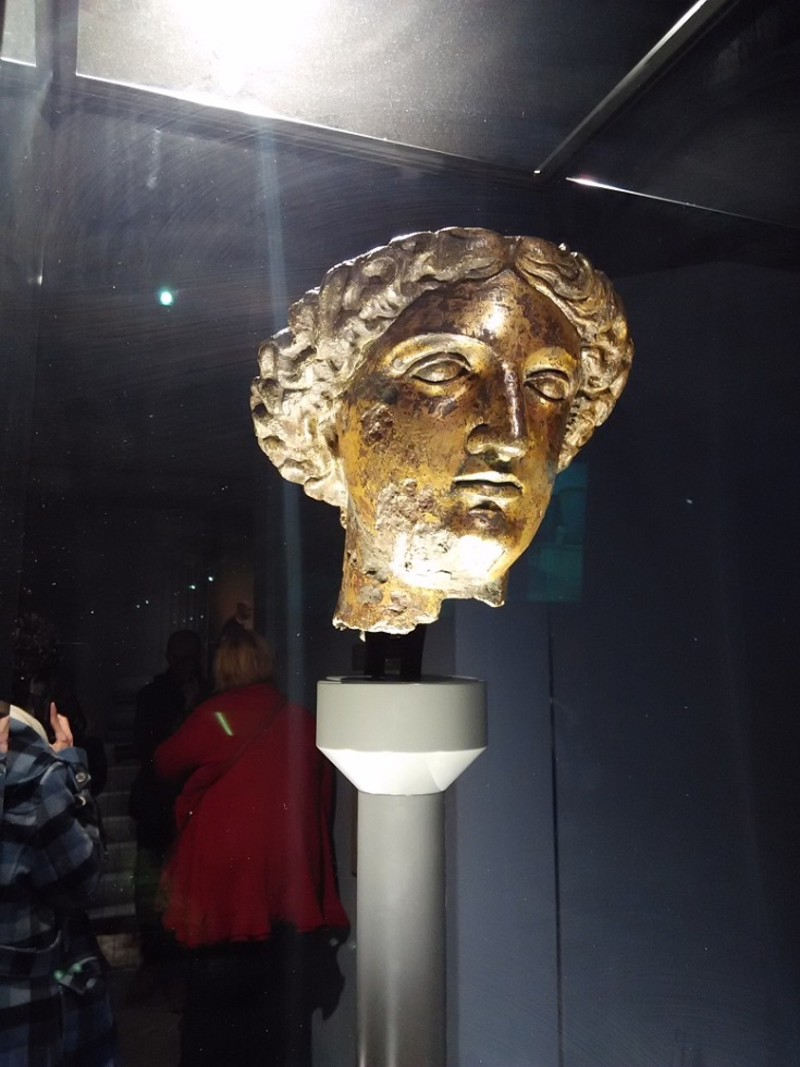 Sulis Minerva - Goddess of Wisdom and Decisions. Bath UK