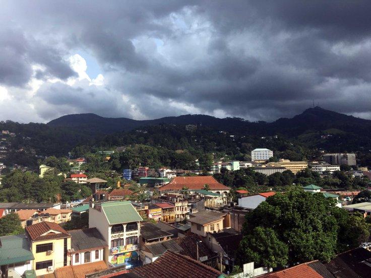 View from Sevana City Hotel, Kandy