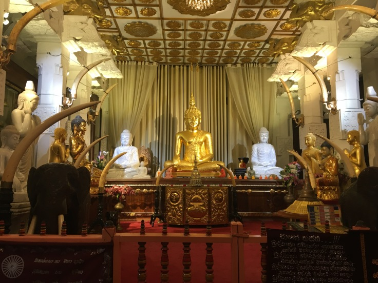 Museum inside Tooth Relic Temple, Kandy